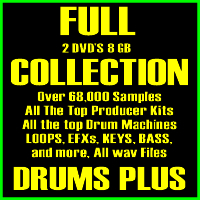 The Full Collection Sample Pack-DVDs